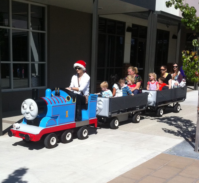 Thomas rides at Family Fun Day